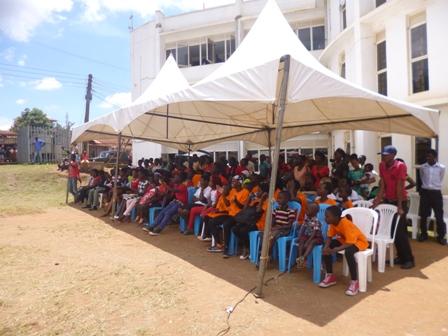 MYDEL at the Makindye Urban Youth Day Celebrations