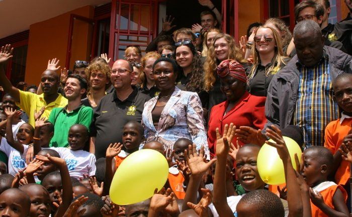 Mc Quilton Academy Launched in Nansana